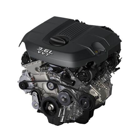 3.6-Liter V6 24-Valve VVT Engine with ESS