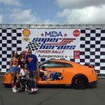 Los superhéroes de Nissan por la MDA