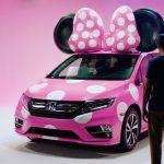 Honda y Disney combinan un personaje con la «Minnie Van»