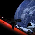 Un Tesla Roadster camino a Marte