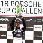 Regresa victorioso Víctor Gómez IV al Porsche GT3 Cup USA Challenge de Yokohama