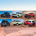 Jeep y Mopar presentan siete vehículos concepto