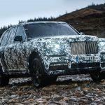 A pocos días para conocer la Cullinan… la SUV de Rolls-Royce