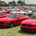 Cientos de vehículos Mustang invadieron La Parguera