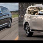 Infiniti QX60 y QX80 reciben Premios de Satisfacción de Vehículos