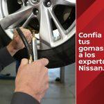 Centros Nissan ofrecerán venta e instalación de gomas