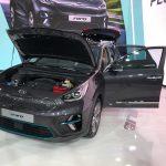 El Kia e-Niro en el Salón del Automóvil de París
