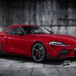 Se filtran imágenes oficiales del Toyota Supra