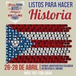 Harán bandera de Puerto Rico con más de 200 autos antiguos