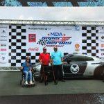 Exitosa la corrida de autos amistosa del 'Super Heroes Poker Rally'