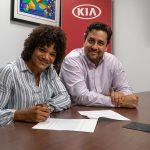 Kia escucha el reclamo de la judoka María Pérez