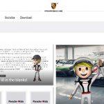 Porsche4Kids, nueva página para divertirse en casa