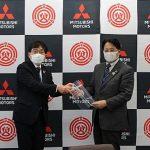 Mitsubishi Motors comienza la producción de protectores faciales